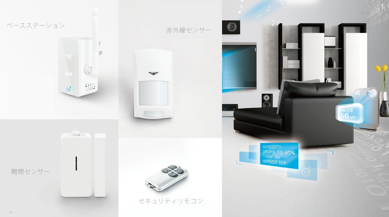 eSecurity|IoT 家電 スマートホーム・スマートハウス|Link Japan画像01